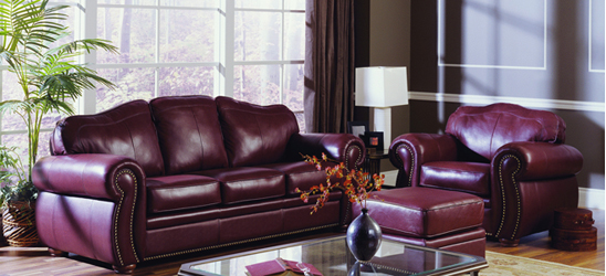 Leather Sofas, Loveseats, and Sets