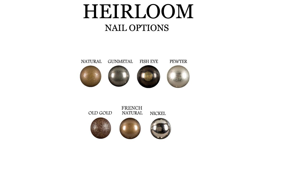 Heirloom Nail Options