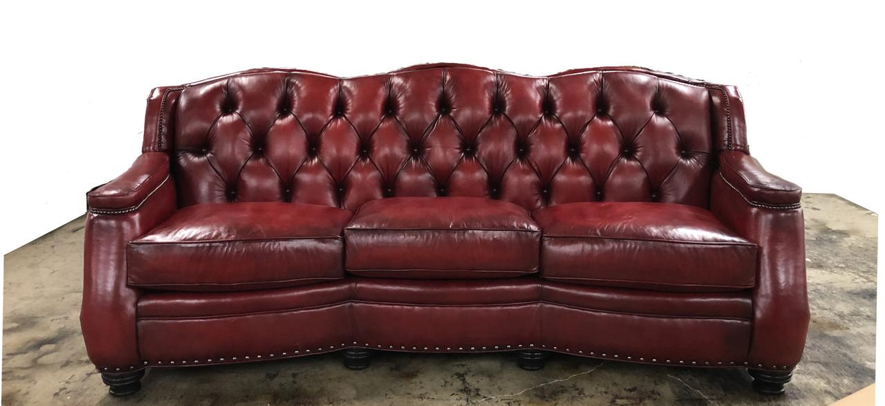 Chatsworth Leather Sofa American Heritage