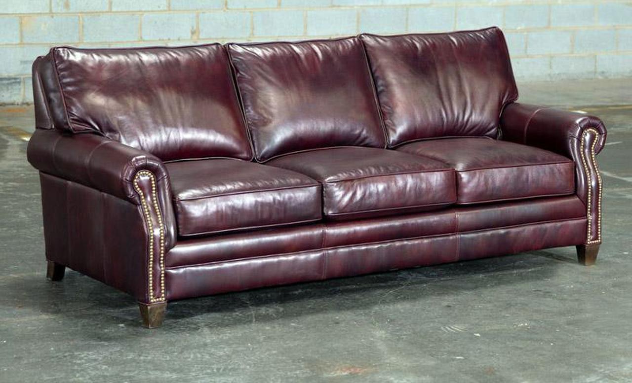 Lacross Sofa American Heritage Leather